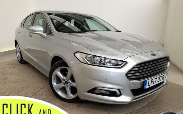 Used 2017 SILVER FORD MONDEO Hatchback 2.0 TITANIUM TDCI 5DR 1 OWNER AUTO 148 BHP (reg. 2017-08-01) for sale in Stockport