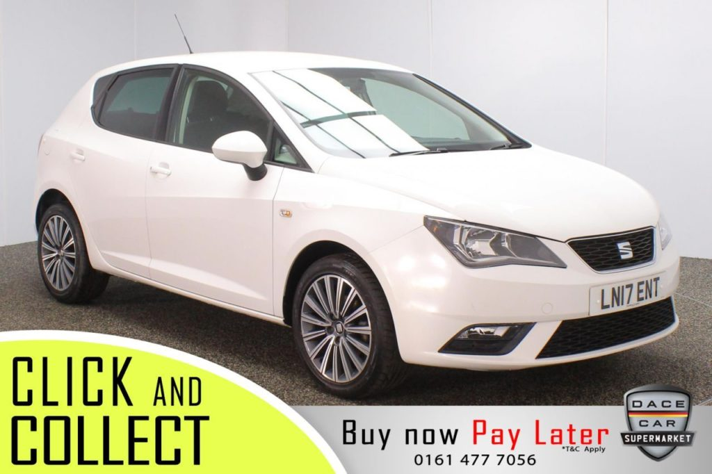 Used 2017 WHITE SEAT IBIZA Hatchback 1.2 TSI SE TECHNOLOGY 5DR 1 OWNER 89 BHP (reg. 2017-06-26) for sale in Stockport