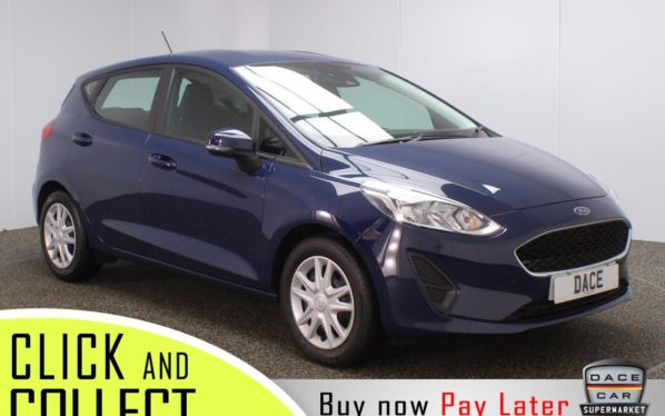 Used 2018 BLUE FORD FIESTA Hatchback 1.1 STYLE 5DR 70 BHP + 1 OWNER (reg. 2018-11-22) for sale in Stockport