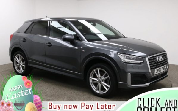 Used 2018 GREY AUDI Q2 Estate 1.4 TFSI S LINE 5d AUTO 148 BHP (reg. 2018-01-25) for sale in Manchester