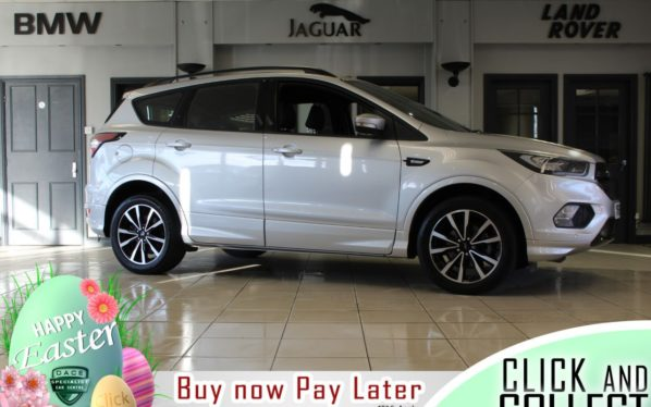 Used 2018 SILVER FORD KUGA SUV 1.5 ST-LINE 5d 148 BHP (reg. 2018-09-29) for sale in Hazel Grove