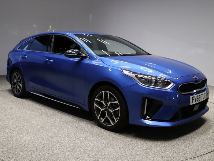 Used 2019 BLUE KIA PROCEED Estate 1.4 GT-LINE ISG 5d 139 BHP (reg. 2019-11-29) for sale in Manchester