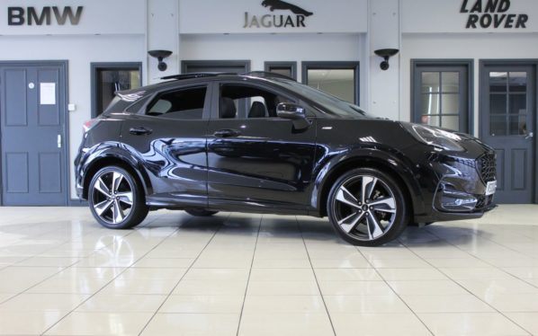 Used 2020 BLACK FORD PUMA Hatchback 1.0 ST-LINE X FIRST EDITION PLUS 5d 153 BHP (reg. 2020-05-27) for sale in Hazel Grove