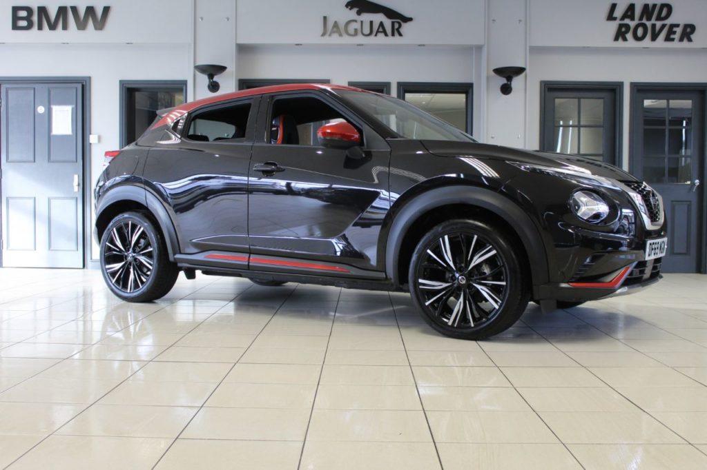 Used 2020 BLACK NISSAN JUKE Hatchback 1.0 DIG-T TEKNA PLUS DCT 5d AUTO 116 BHP (reg. 2020-02-12) for sale in Hazel Grove