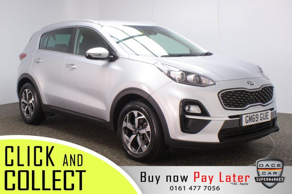 Used 2020 SILVER KIA SPORTAGE Estate 1.6 CRDI 2 ISG 5DR 1 OWNER 135 BHP (reg. 2020-02-19) for sale in Stockport