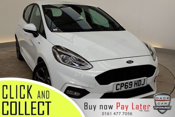 Used 2020 WHITE FORD FIESTA Hatchback 1.0 ST-LINE 5DR 1 OWNER 99 BHP (reg. 2020-02-10) for sale in Stockport