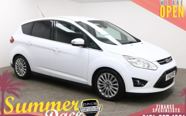 Used 2012 WHITE FORD C-MAX MPV 1.6 TITANIUM 5d 123 BHP (reg. 2012-05-03) for sale in Manchester
