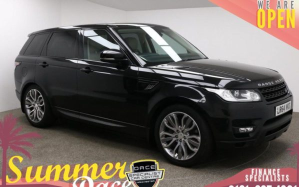 Used 2014 BLACK LAND ROVER RANGE ROVER SPORT Estate 3.0 SDV6 HSE DYNAMIC 5d AUTO 288 BHP (reg. 2014-09-24) for sale in Manchester