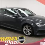 Used 2016 GREY AUDI A3 Hatchback 1.6 TDI S LINE 3d 109 BHP (reg. 2016-10-08) for sale in Manchester