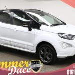 Used 2018 WHITE FORD ECOSPORT Hatchback 1.0 ST-LINE 5d 124 BHP (reg. 2018-04-06) for sale in Manchester
